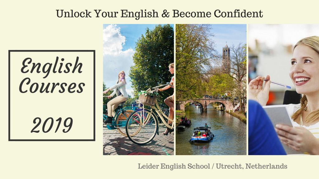 English courses, Study abroad Utrecht Netherlands